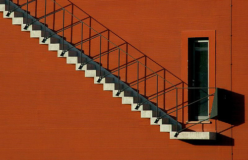 White Stairs, Red Wall, Frankfurt